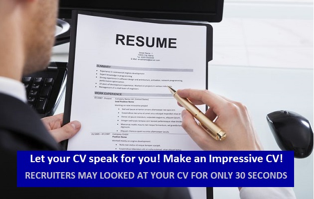 Cv writing service dubai
