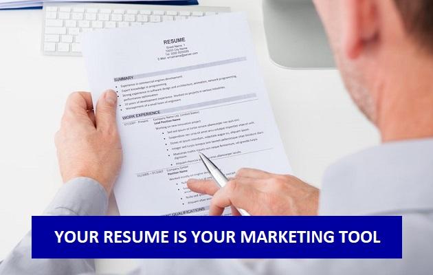one pager resume writin g help dubai